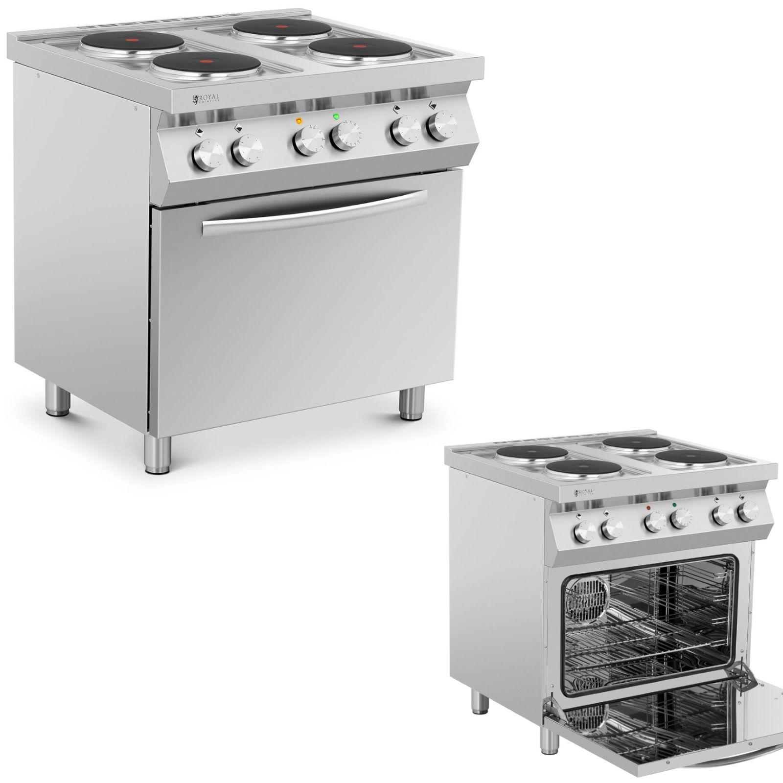 Made In Italy Kuchnia Elektryczna 4 Palnikowa Z Piekarnikiem Hurtownia Cena